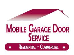 Mobile Garage Door Service - Logo